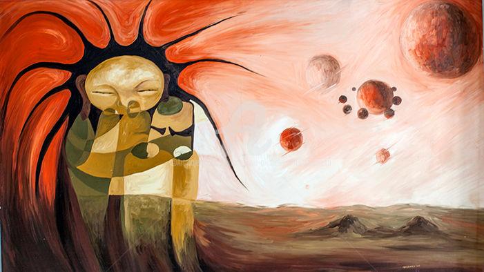 Akachukwu Akabeks Chukwuemeka - man musing the universe