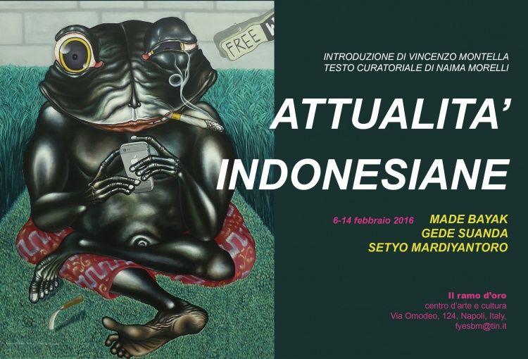 Italia,  arte,  Napoli,  Il ramo d'oro,  Indonesia,  Naima Morelli,  Setyo Mardiyantoro,  Gede Sayur,  Made Bayak,