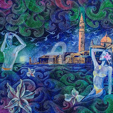 Mardiyantoro Setyo - bathing in Venice